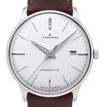 Junghans Automatik neu Meister Chronometer Silber