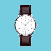 Junghans Meister Chronometer Stal Srebrny