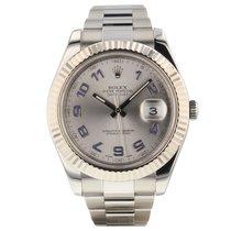 Rolex Datejust II Otel Argint Arabic