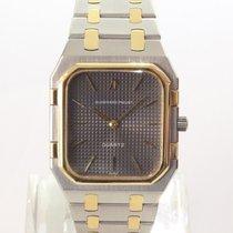 Audemars Piguet Royal Oak Jumbo Gold/Stahl 32mm Grau Keine Ziffern