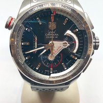 TAG Heuer Grand Carrera Steel 43mm Black No numerals United States of America, Louisiana, New Orleans