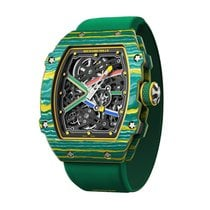 Richard Mille RM67-02 Carbon 2018 RM 67 38.7mm neu