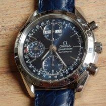 Omega Speedmaster Day Date Acier 39mm Bleu Sans chiffres France, Paris