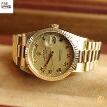 Rolex Day-Date Guld Romerska