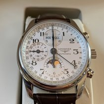 Longines Master Collection new 2017 Automatic Chronograph Watch with original box L2.673.4.78.3