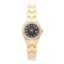 Rolex 80298 Oro amarillo Lady-Datejust Pearlmaster 29mm usados