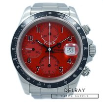 Tudor Tiger Prince Date Stahl 40mm Rot