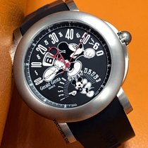 Gérald Genta Arena Bi-Retro new 2009 Automatic Watch with original box and original papers BSP.Y.80