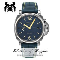 Panerai Luminor Due Titanio 42mm Azul