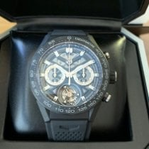 TAG Heuer Carrera Heuer-02T Carbon 45mm Black No numerals