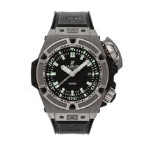 Hublot Titanio Automático Negro Sin cifras 48mm usados King Power