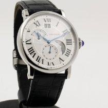 Cartier Rotonde de Cartier Acero 42mm Blanco Romanos