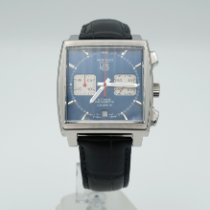 TAG Heuer Monaco Calibre 12 Steel 39mm Blue No numerals United States of America, California, Marina Del Rey
