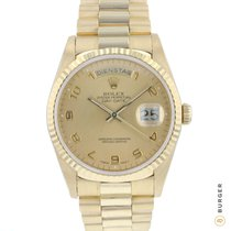 Rolex Day-Date 36 Yellow gold 36mm Gold Arabic numerals