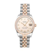 Rolex Lady-Datejust Acero 31mm Rosa Sin cifras