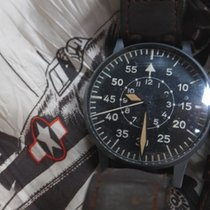 Laco 55mm Manual winding 1943 pre-owned Black