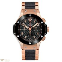 Hublot Big Bang 18K Rose Gold & Ceramic Men's Watch