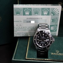 Rolex Submariner 16800 SS Black Dial 1987 Box & Papers