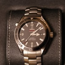 Omega Seamaster Planet Ocean Liquid Metal Limited Edition