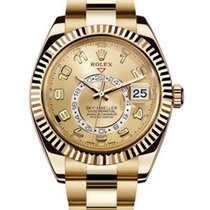 Rolex Sky-Dweller Yellow gold 42mm Arabic numerals United States of America, New York, NEW YORK