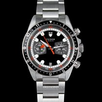 Tudor Heritage Chrono Black/Steel 42mm - 70330N
