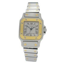 Cartier Santos Galbée Gold/Steel 34mm White Roman numerals United States of America, New York, New York