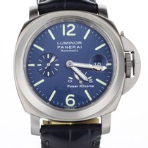 Panerai Luminor Power Reserve pre-owned 44mm Titanium