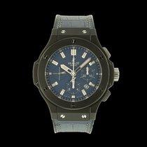 Hublot Chronograph 44mm Automatik 2015 gebraucht Big Bang Jeans Blau