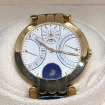 Harry Winston Yellow gold 37mm Automatic Premier pre-owned UAE, Abu Dhabi