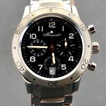 Breguet Chronograph 39mm Automatik gebraucht Type XX - XXI - XXII Schwarz
