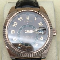 Rolex Sky-Dweller Or rose 42mm Brun Arabes France, paris