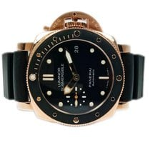 Panerai Luminor Submersible 1950 3 Days Automatic pre-owned 42mm Black Date Rubber