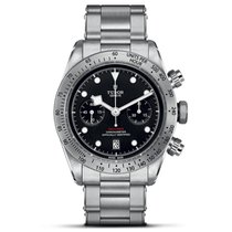 Tudor Black Bay Chrono Steel 41mm Black United States of America, New York, New York