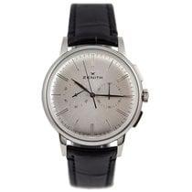 Zenith Elite Chronograph Classic Acero 42mm Plata