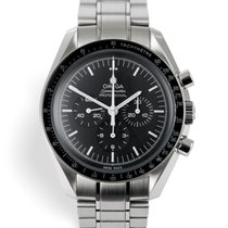 Omega 311.30.42.30.01.005 Aço 2017 Speedmaster Professional Moonwatch 42mm usado