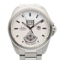 TAG Heuer Grand Carrera Staal 42mm Wit