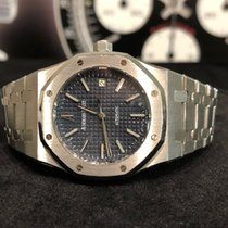 Audemars Piguet Royal Oak Selfwinding Steel 39mm Blue No numerals