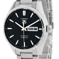 TAG Heuer Automatic Black 41mm new Carrera Calibre 5