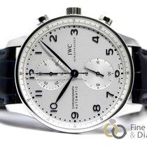 IWC Portuguese Chronograph Acero 41mm Plata Arábigos España, Madrid