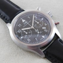 IWC IW 3741 Steel 1999 Pilot Chronograph 37mm pre-owned