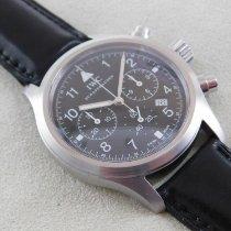 IWC Pilot Chronograph Steel 37mm Black Arabic numerals