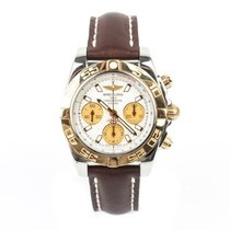 Breitling Chronomat 41 Yellow gold 41mm Silver