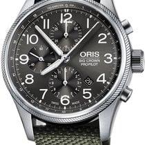 Oris Big Crown ProPilot Chronograph Steel 44mm Grey Arabic numerals United States of America, California, Moorpark