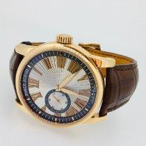 Roger Dubuis Hommage Pозовое золото 42mm Cерый Римские