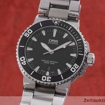 Oris Aquis Date Steel 43mm Black