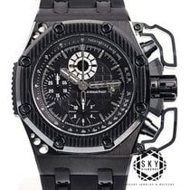 Audemars Piguet Royal Oak Offshore Chronograph Titan 42mm Schwarz Keine Ziffern
