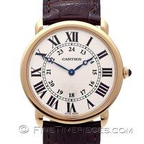 Cartier gebraucht Handaufzug 36mm Saphirglas