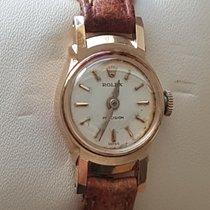 Rolex 1950s Vintage Solid Gold 18K Woman
