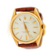 Rolex Oyster Perpetual Chronometer 18K Rose Gold