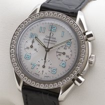 Omega Chronograph 38,5mm Automatik 2002 gebraucht Speedmaster Ladies Chronograph